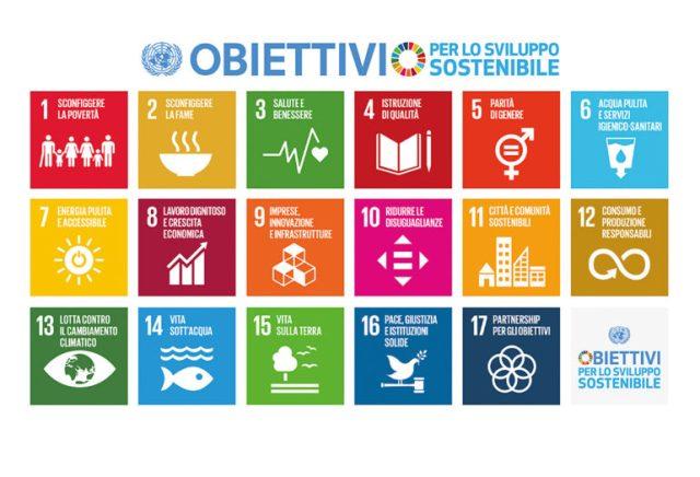 Agenda 2030: i 17 obiettivi (goals) illustrati per immagini da UNEP