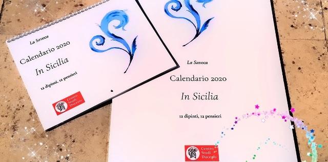La Savoca: In Sicilia, 12 dipinti, 12 pensieri in un nuovo calendario