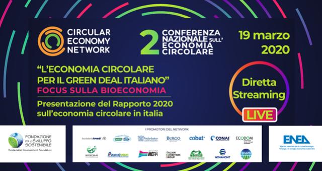 Rapporto Economia Circolare 2020 in Italia: un Focus sulla Bioeconomia
