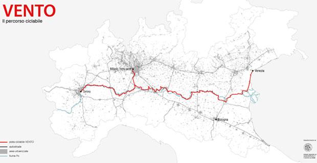 VenTo – La pista ciclabile che attraversa la pianura padana