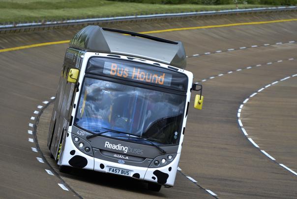 Autobus a biometano: record di velocità in Inghilterra
