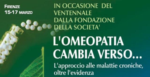 A Firenze tre accademici stabiliscono che l'omeopatia è una questione puramente chimica!