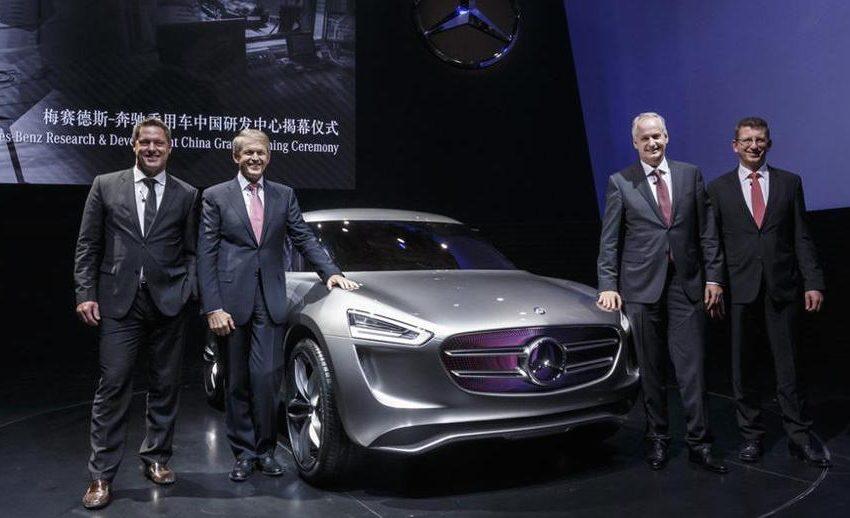 Mercedes Vision G-Code, l'ibrida alimentata dai sole rinnovabili
