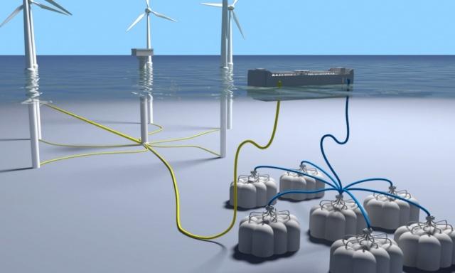 Acqua e aria per accumulare energia: l'idea del progetto ODySEA