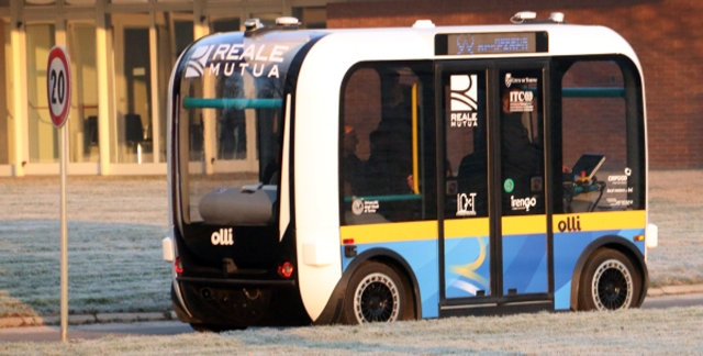 Guida autonoma elettrica: Torino città pilota