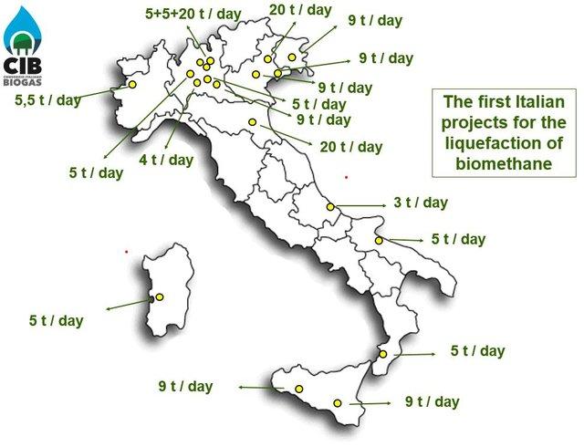 L'Italia potrà essere la prima nazione per numero di impianti Bio-Gnl