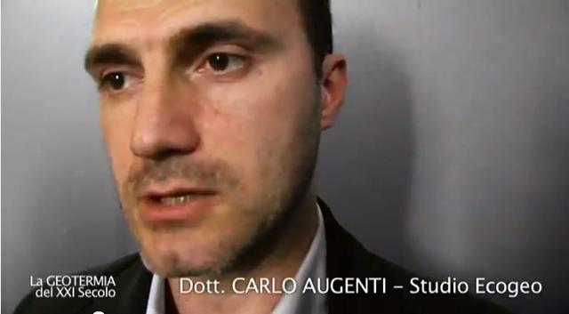 """""""LA GEOTERMIA DEL XXI SECOLO"""" – Intervista 2 – Dott. Augenti, Studio Ecogeo"""