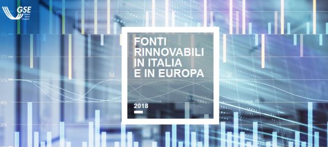 Nuovo rapporto GSE: la fotografia della diffusione delle rinnovabili in Italia ed in Europa