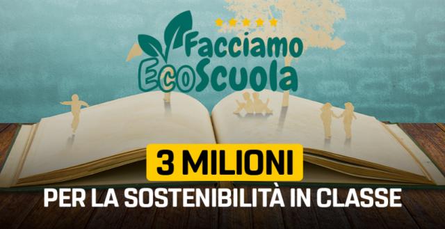"""""""Facciamo Ecoscuola"""": il progetto plastic-free dell'Istituto Superiore Valdichiana"""