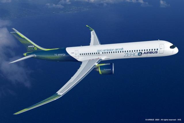 """Emissioni del settore aereo: ecco """"ZEROe"""" il nuovo aereo a idrogeno di Airbus"""