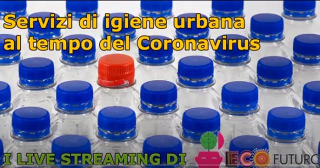 Servizi di igiene urbana al tempo del Coronavirus