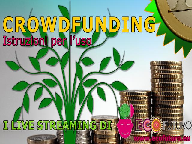 Crowdfunding istruzioni per l'uso