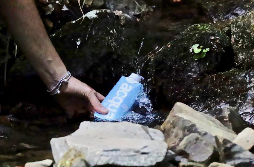 La bottiglia-borraccia: la nuova frontiera dell'acqua confezionata