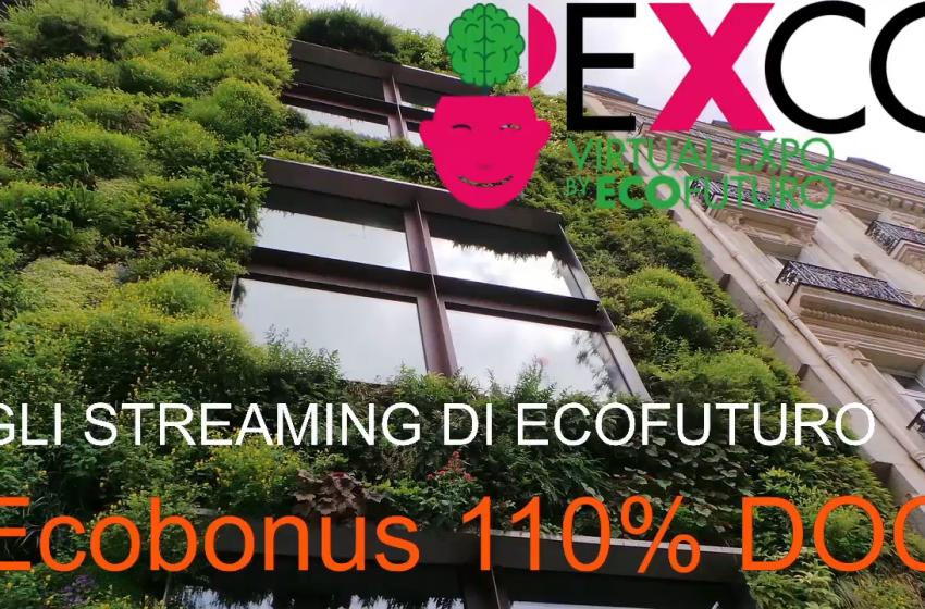 Superbonus 110%: gli streaming di EXCO