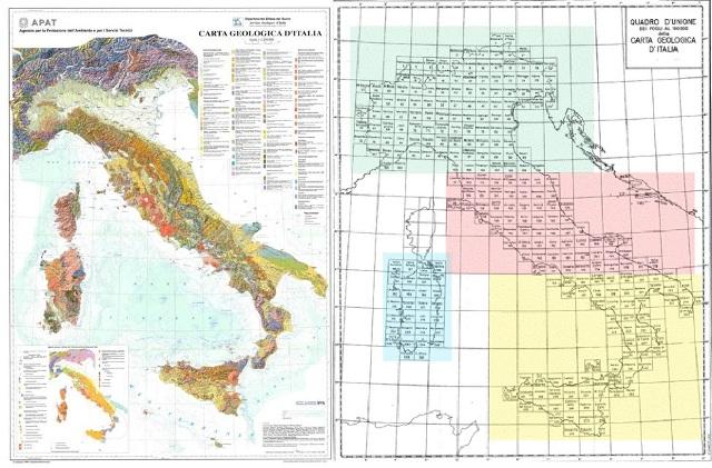 Carta Geologica d'Italia: una nuova legge finanzia il suo completamento