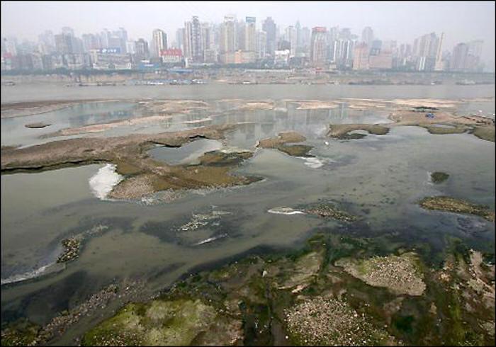 La Cina e il problema dell'acqua