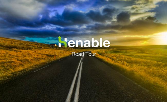 Henable Road Tour: trazione elettrica ed energie futuristiche per un tour dell'Italia 2.0