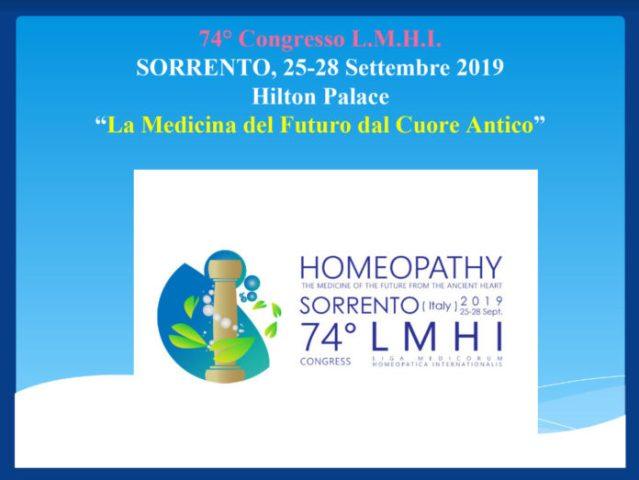 Dal 74° Congresso internazionale i medici omeopati rilanciano: «Risultati, efficacia ed evidenze»