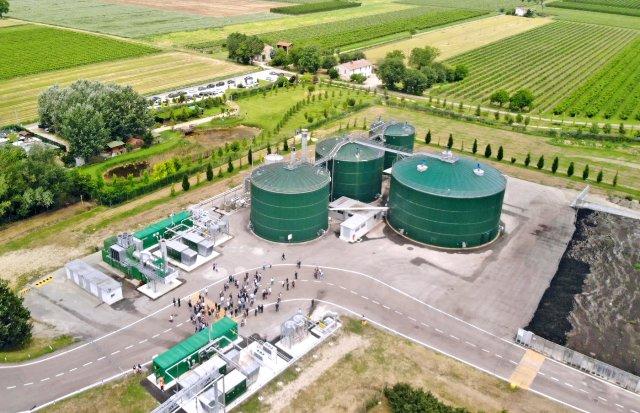 Caviro Extra: dagli scarti agroindustriali 12 milioni di tonnellate di biometano