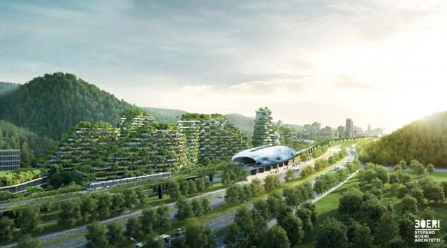 Geotermia, Ambiente, Cina: In Cina la prima città-foresta, energeticamente autosufficiente «a partire dalla geotermia»