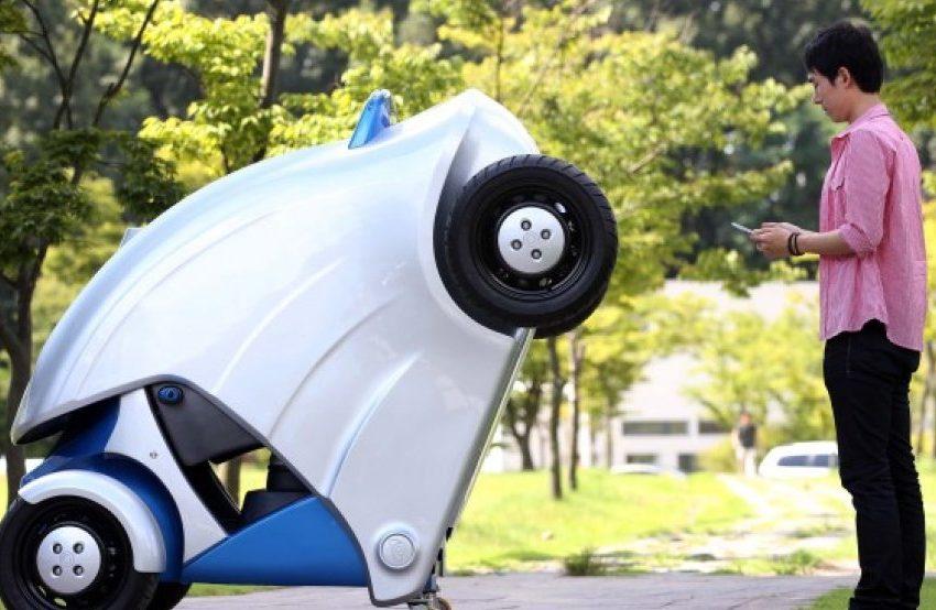 """Ecco """"Armadillo"""" l'auto elettrica pieghevole sudcoreana"""