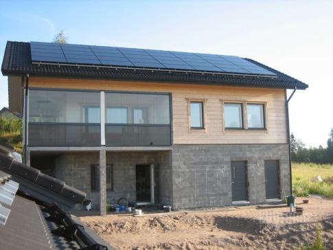 Legno, geotermia e fotovoltaico: formidabile connubio per abitazioni ad alta efficienza anche in climi estremi