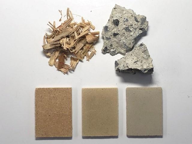 Economia circolare: gli scarti di legno per migliorare il calcestruzzo riciclato