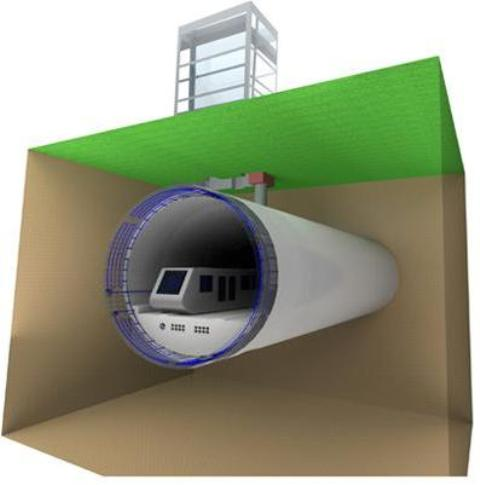 """Torino e le """"gallerie geotermiche"""": dalla metropolitana la climatizzazione degli edifici"""