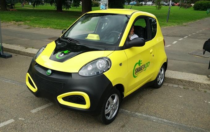 """Car-sharing elettrico innovativo """"Made in Italy"""": SharenGo è arrivato a Milano"""