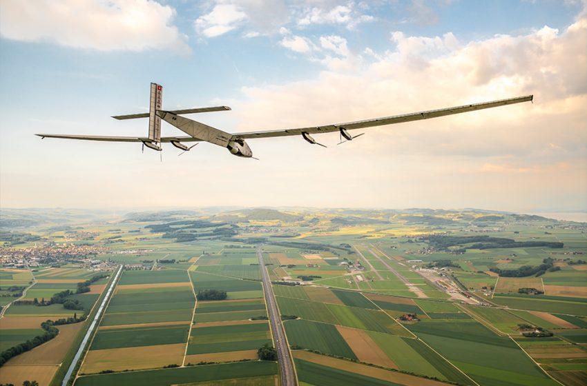 L'aereo solare svizzero attraversa l'America senza consumare una goccia di carburante
