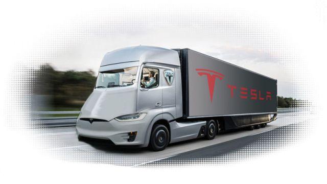 """E Tesla accende anche l'era del """"camion elettrico"""""""