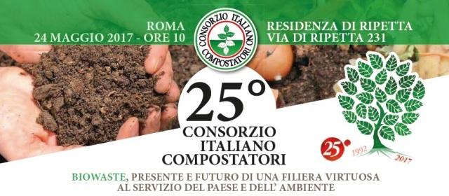 CIC festeggia i suoi 25 anni: biorifiuti grande opportunità per ambiente e sviluppo
