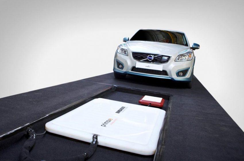 Auto elettriche: ricarica wireless per Volvo