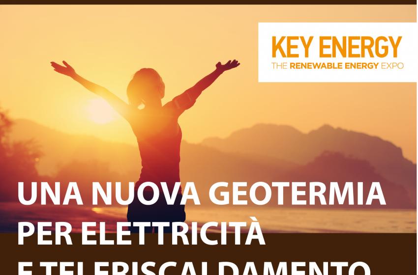 La Terra ha un cuore caldo: il 5 novembre a Ecomondo Key Energy 2019