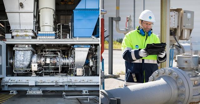 """Snam testa la prima turbina """"ibrida"""" a idrogeno al mondo per una rete gas"""