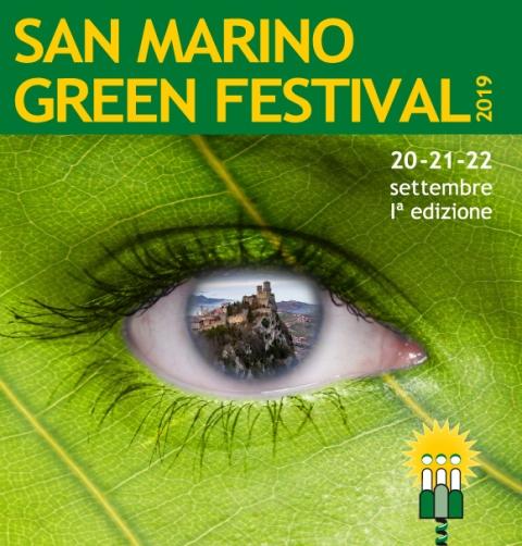 San Marino Green Festival 2019: dal 20 al 22 settembre nella Repubblica del Titano
