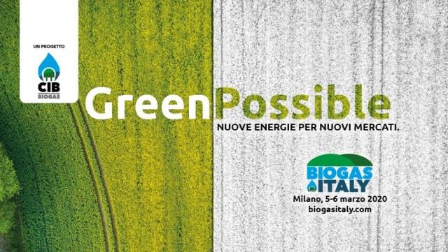 RINVIATO!!! Biogas Italy 2020: il 5 e 6 marzo a Milano