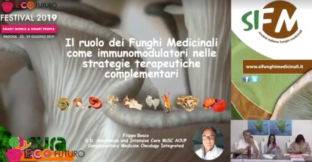 I funghi e la medicina: l'intervento del Dott. Filippo Bosco ad Ecosalute
