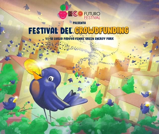 Ecofuturo Festival raddoppia con lo spazio Crowdfunding