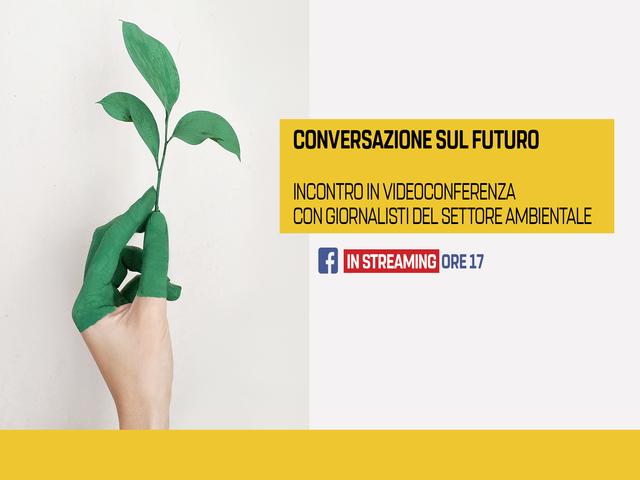 Conversazione sull'ambiente con il Ministro Sergio Costa – Diretta Facebook 1° aprile