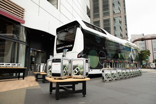 Calamità naturali e continuità energetica: spunta l'idrogeno da un bus