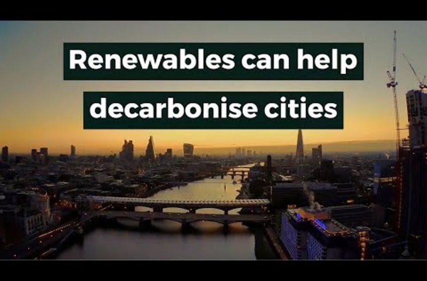Soluzioni verdi per la decarbonizzazione urbana: il nuovo rapporto IRENA