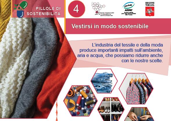 Pillole di sostenibilità: vestirsi eco