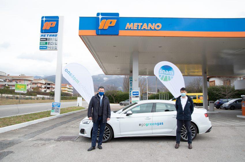 IP e Snam4Mobility: nel Lazio la prima di 26 stazioni di rifornimento a gas naturale