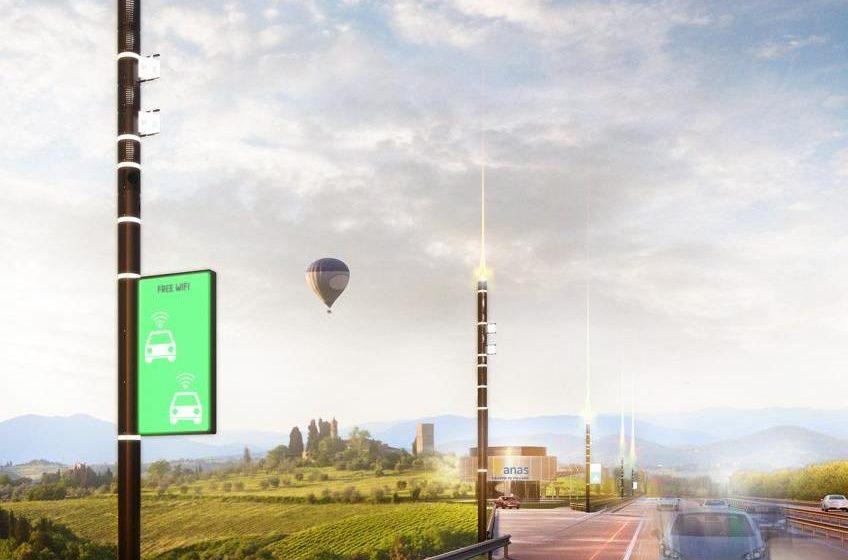 """Progetto """"Smart Road"""" di Anas"""