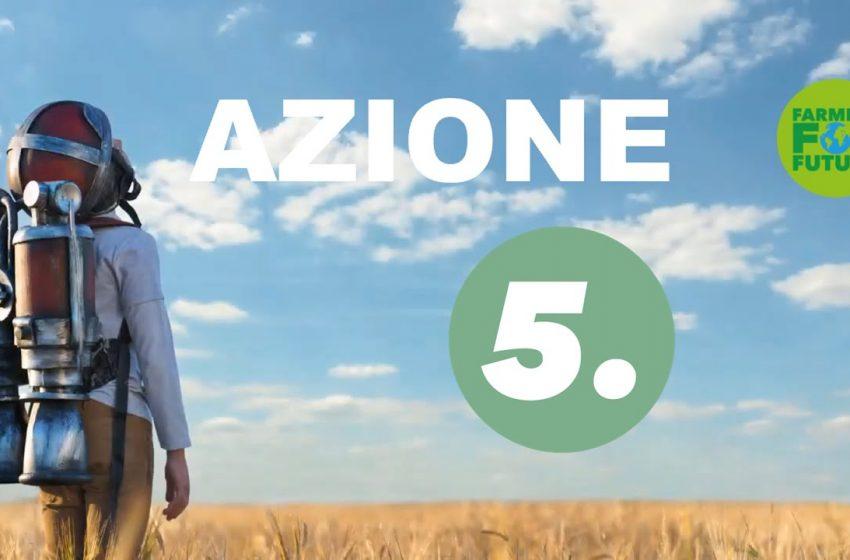 Farming For Future: ridurre le emissioni e preservare la fertilità dei suoli