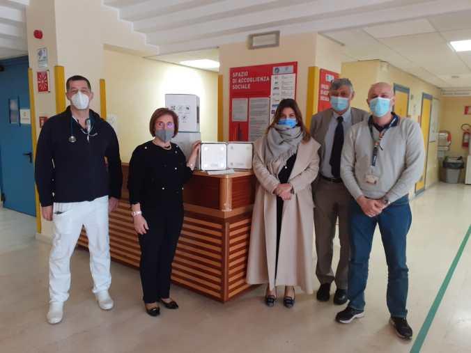 Aria pulita all'ospedale di Mantova con Jonix