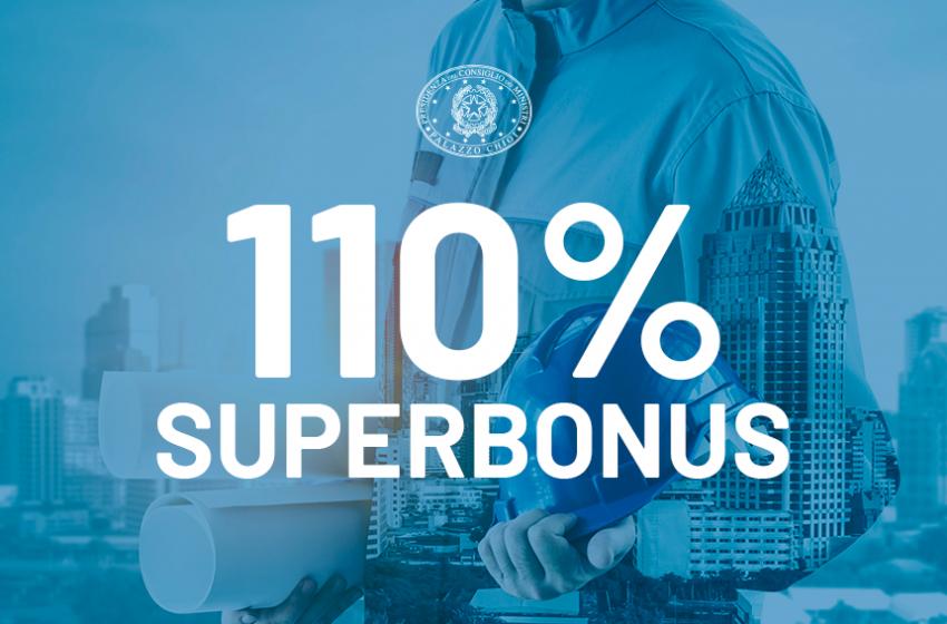 Superbonus 110%: oltre 37mila interventi per 5,6 miliardi di investimenti