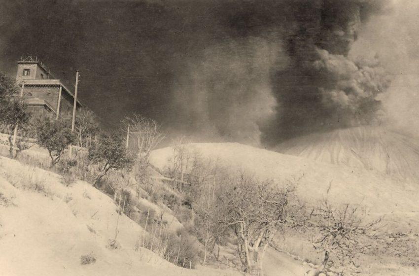 Vesuvio, le immagini inedite delle eruzioni di inizio '900