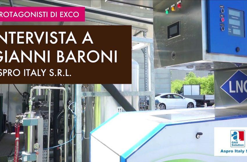 I protagonisti di EXCO: Gianni Baroni – Aspro Italy